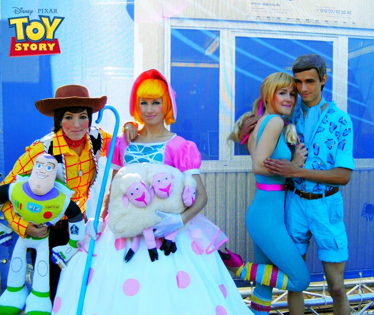 toy story cosplay 4 group by hikarulein on deviantart - Toy Story Alien Halloween Costume