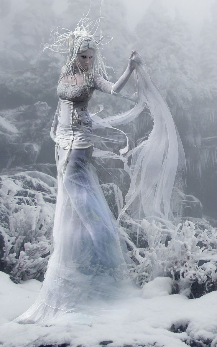 *+*Mystickal Faerie Folke*+*... Snow Queen... By Artist Small-Serenity on deviant Art...