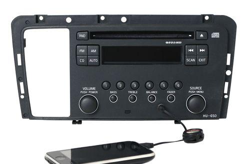 2005-2009 Volvo 60 70 80 Series Radio AM FM CD w Aux mp3 Input 30737708-1 HU-650