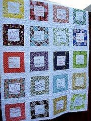 That girl... That quilt: The Teacher Quilt. I'm going to do this for Izzy's teacher this year. Would a 6th grade male teacher like something like this too?