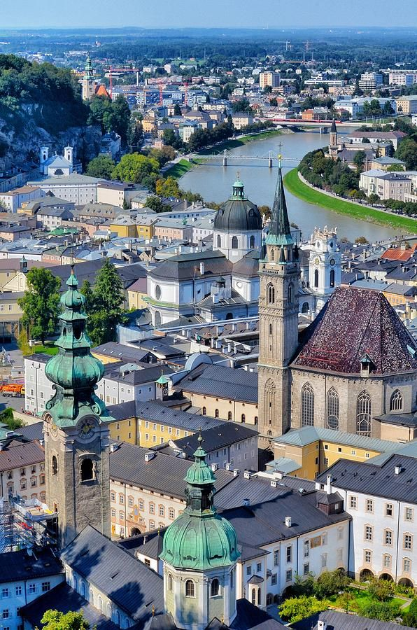 Salzburg, Austria - the hills are alive with the Sound of Mozart