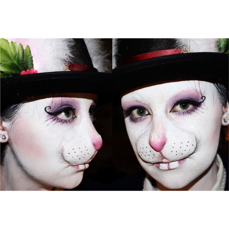 Easter bunny makeup special effects rabbit prosthetic