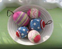 Knitted Easter Egg Decoration