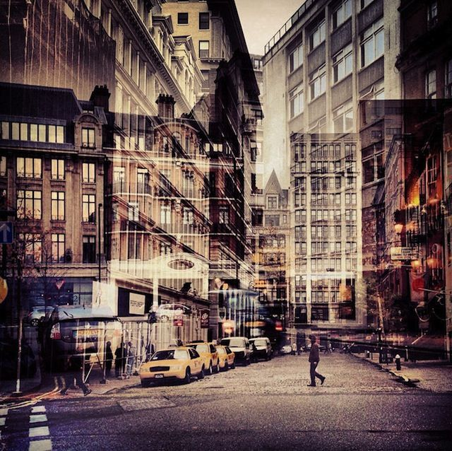 """""""New York + London: A Collection of Double Exposures"""" by Daniella Zalcman"""