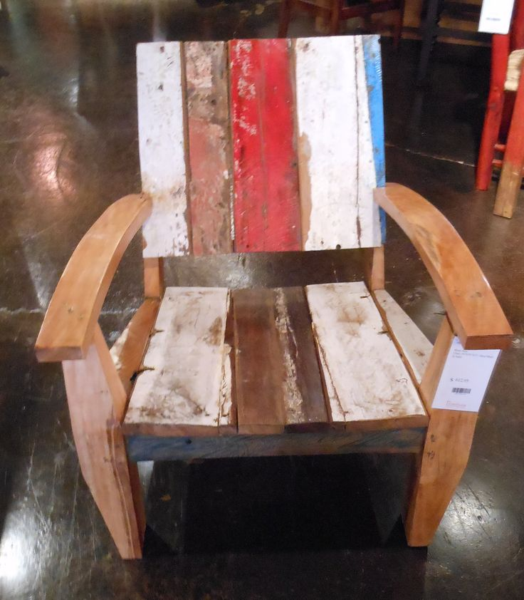 Reclaimed teak wood from old boats made in India.