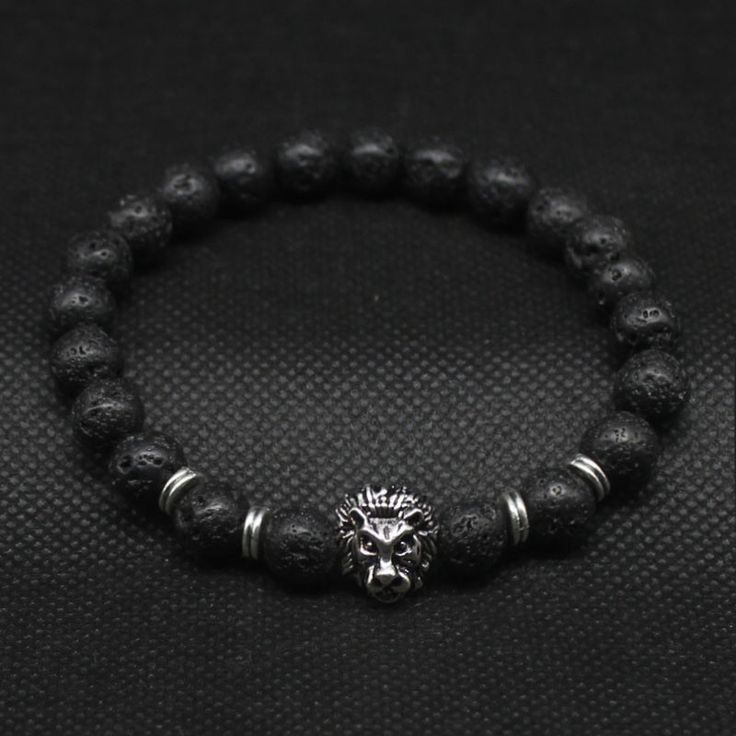 Bracelets Type: Charm Bracelets Gender: Unisex Clasp Type: Hidden-safety-clasp Material: Stone Metals Type: Zinc Alloy Length: 18.5-19.5cm Setting Type: None Style: Trendy Shape\pattern: Animal Chain
