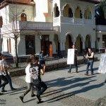 """Se filmeaza """"Happy"""" in Resita, la Palatul Cultural"""