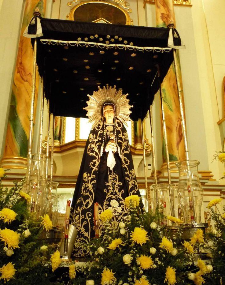 Virgen de la soledad c tedra de la inmaculada concepci n - Persianas lavirgen cordoba ...