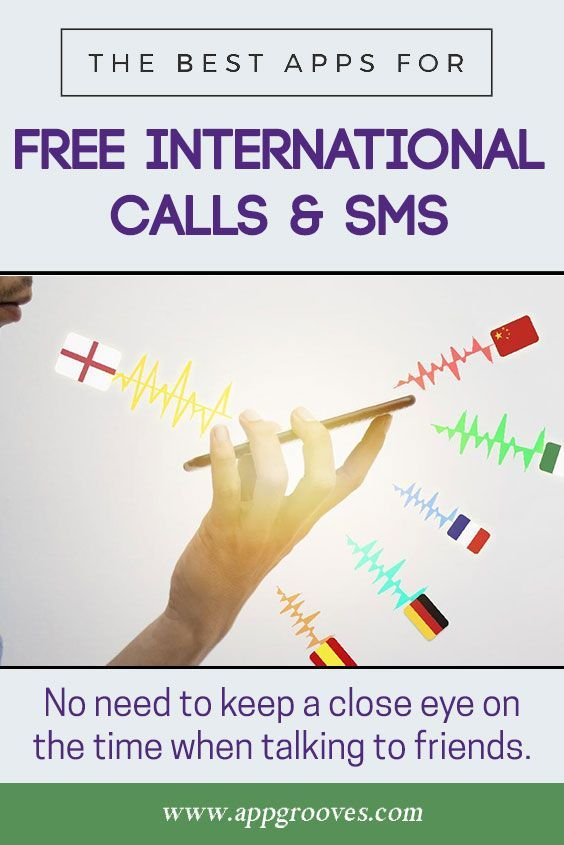 Best Apps for Free Calls & Texts with International Calling & SMS