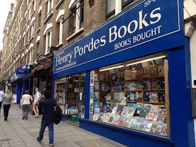 Bogstavsamleren har en virkelig fin liste over gode boghandlere i London.