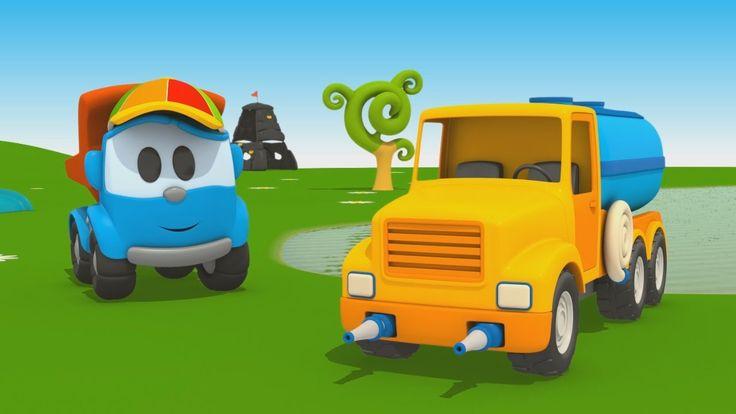 Cartoni Animati per Bambini - Leo Junior e l'autobotte