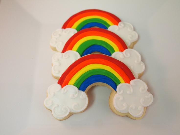 12 Best Images About Rainbow Cookies On Pinterest Posts