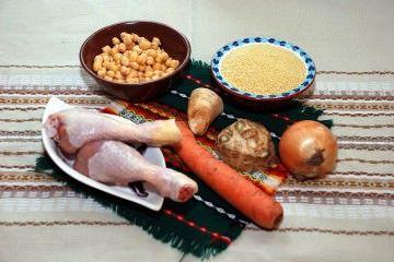 как приготовить кусус, кускус с курицей, кус кус с овощами