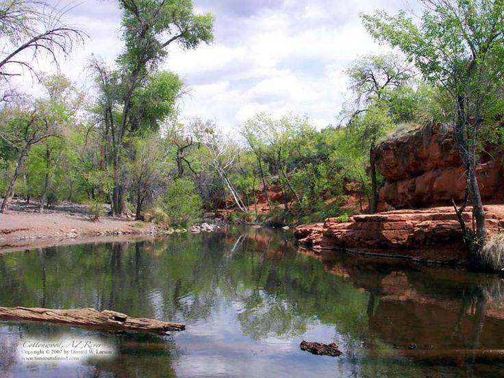 Cottonwood AZ River