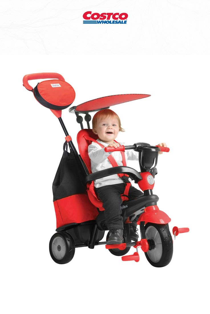SmarTrike®'s 4-in-1 Cruise Tricycle adjusts to your child ...