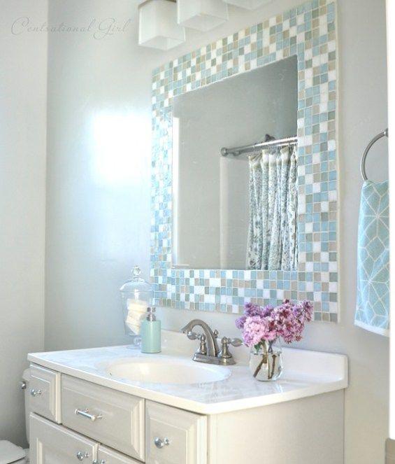 Mosaic Tile Bathroom Ideas   Best 25 Mosaic Tile Bathrooms Ideas On Pinterest Bathrooms New