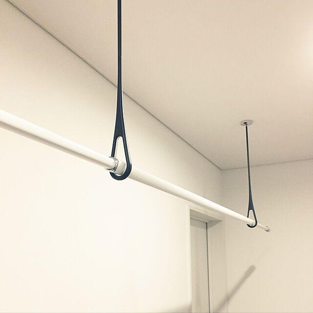 ナスタ 室内物干し エアフープ 天井下地取付仕様 Ks Nrp020 Wr Wgr