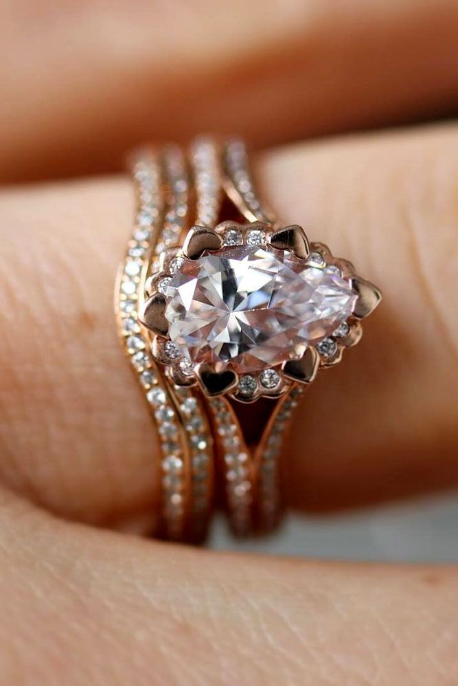 30 Fabulous Wedding Rings That All Women Adore Matrimony Pinterest Engagement And