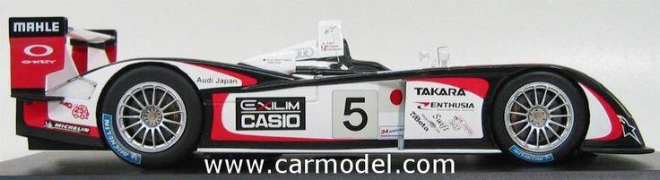 SPARK-MODEL - AUDI - R8 N 5 WINNER LE MANS 2004 T.KRISTENSEN - S.ARA - R.CAPELLO Skala:: 1/18Code: S1802Farbe: WHITE REDMaterial: Die-Cast