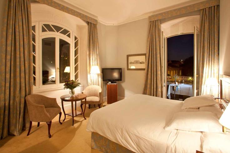 Villa Deluxe Room of the Villa Soro Hotel in San Sebastian, Spain