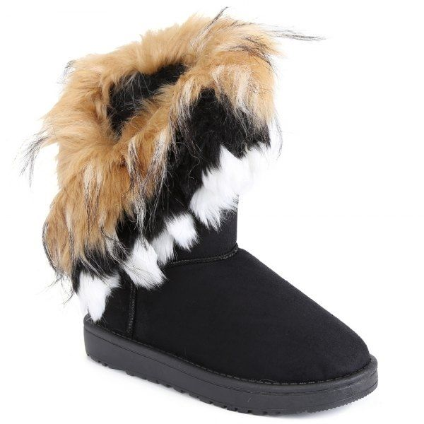 15.1$  Buy now - http://dipv9.justgood.pw/go.php?t=156762203 - Faux Fur Snow Boots