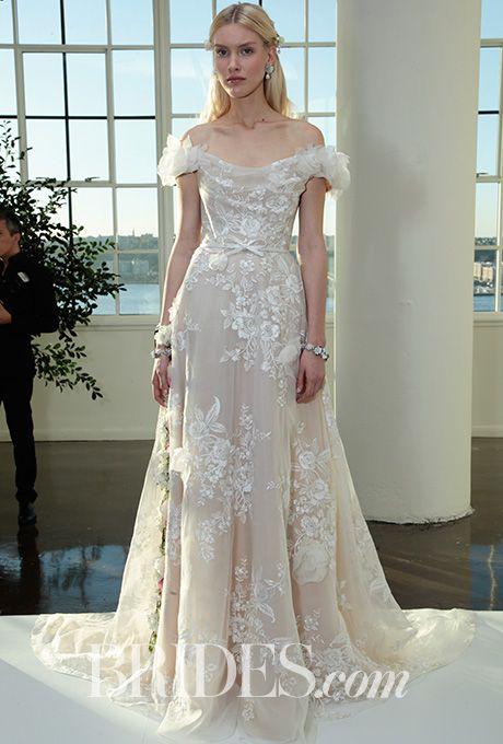 Brides: Marchesa Wedding Dresses - Fall 2017 - Bridal Fashion Week