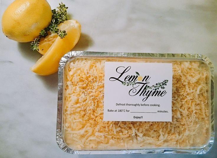 Creamy Lemon Fish Bake