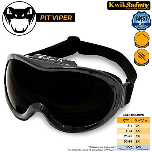 KwikSafety PIT VIPER ANSI Industrial (ANTI-FOG, ANTI-SCRATCH, Snug FIT) Welding Goggles | Shade 5 | Ventilation Infrared Welding Torch Brazing Soldering Flame Cutting Gas Oxy-Acetylene Black #KwikSafety #VIPER #ANSI #Industrial #(ANTI #FOG, #ANTI #SCRATCH, #Snug #FIT) #Welding #Goggles #Shade #Ventilation #Infrared #Torch #Brazing #Soldering #Flame #Cutting #Acetylene #Black
