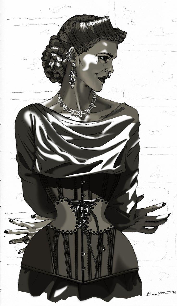 VOGUE | b/n | elenapaoletti_illustrations