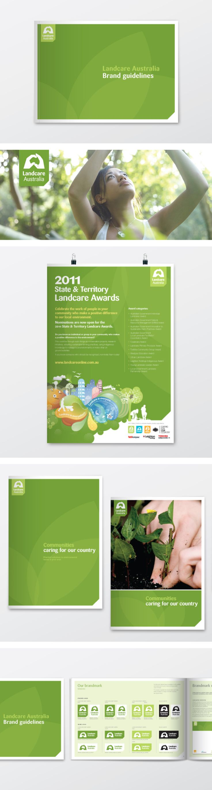 Landcare print collateral