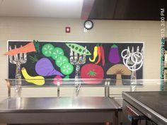school cafeteria decorating ideas - Pesquisa Google