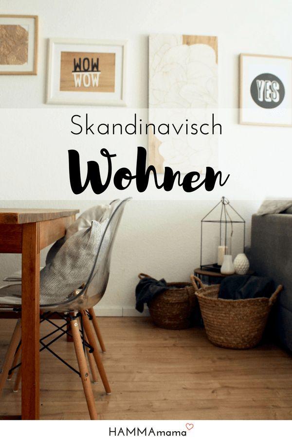 Interior ideen skandinavisch wohnen im esszimmer und bilder als deko