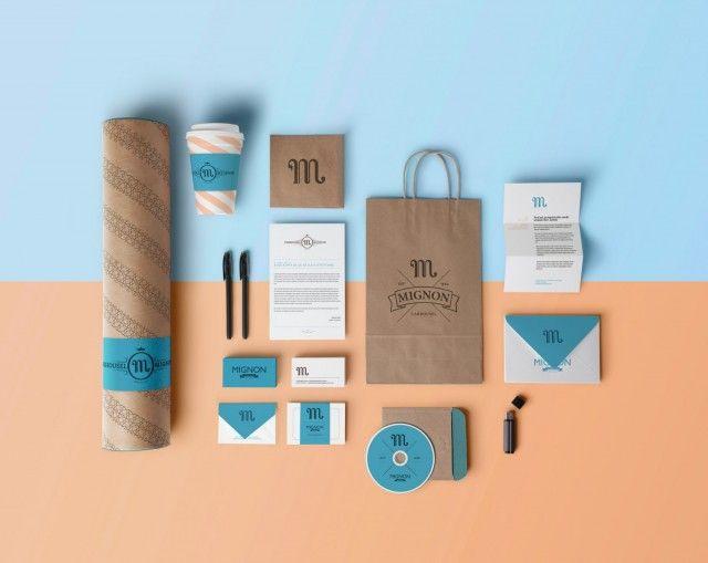 Mignon Brand Identity – Fubiz™
