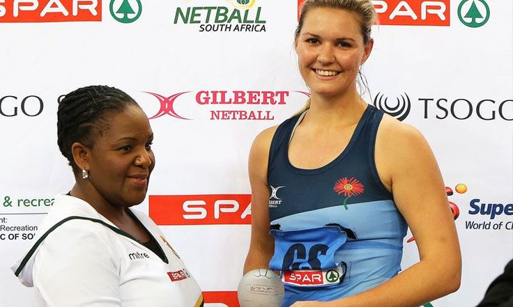 Lenize Potgieter was named player of the tournament and most accurate shooter at the SPAR National Netball Champs! #congrats #YSNnetball #netball #sport
