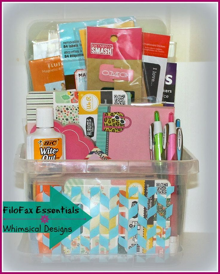 Whimsical Designs: Filofax Essentials