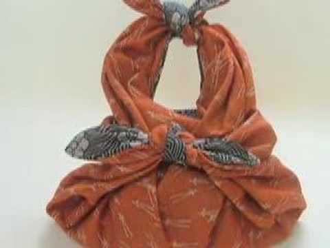 Furoshiki (cloth) wrapping