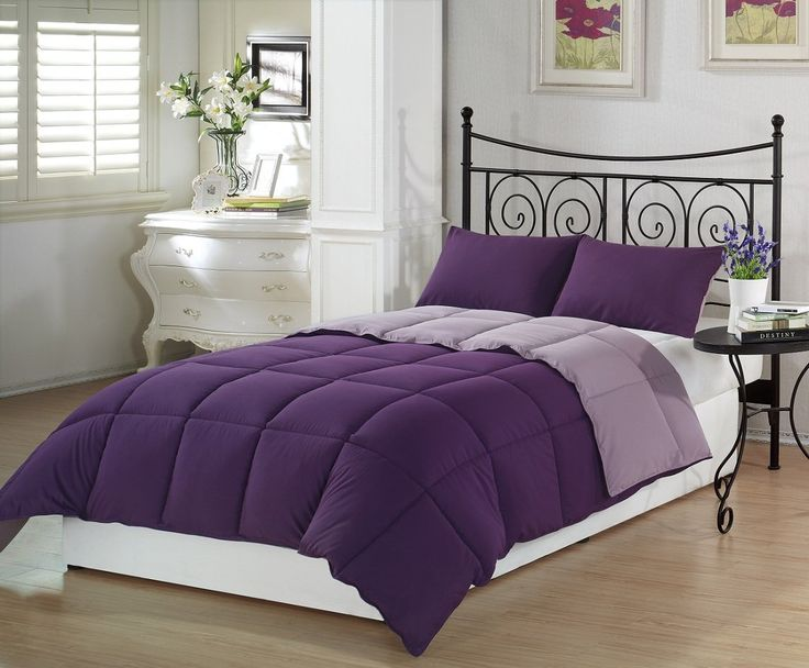 Amazon Com Chezmoi Collection 3 Piece Purple Lilac Super