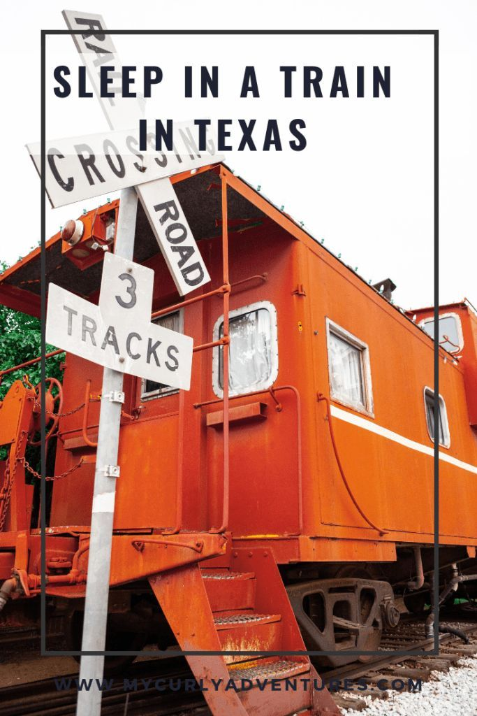 Sleep In A Train In Lubbock Texas Travel Inspiration