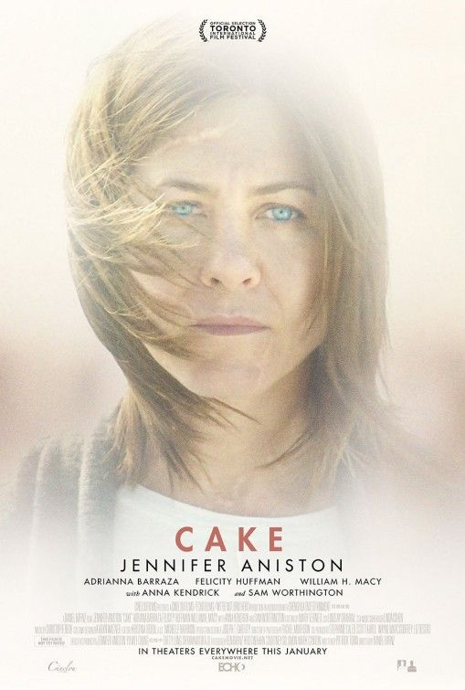 Watch the trailer for Cake (2015) on Movie-List. Directed by Daniel Barnz and starring Jennifer Aniston, Anna Kendrick, Britt Robertson and Sam Worthington. Claire initiates a dubious relationship with a widower while confronting fantastical hallucinations of his dead wife.
