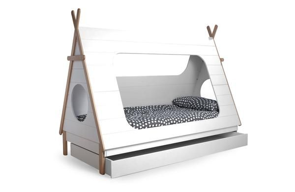 £352, modern Teepee style cabin bed, solid pine and MDF, made in Europe, free delivery and assembly optional