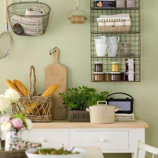 Arredare casa con il verde - Pareti verde chiaro