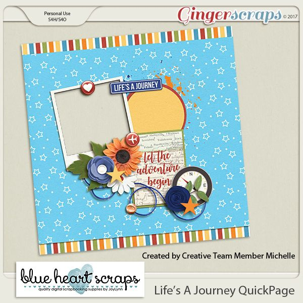 Summer Templates & Freebie! – Blue Heart Scraps