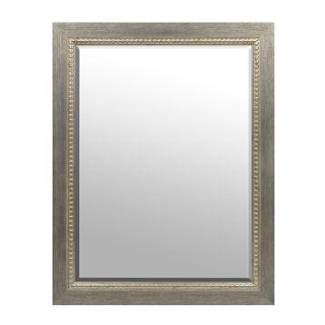 Brushed Silver Framed Mirror, 36x46 in. | Kirklands