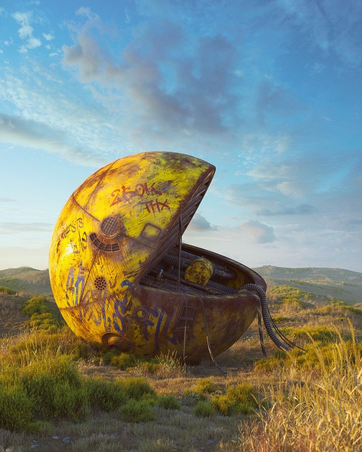 Pop Culture-Inspired Digital Art by Filip Hodas