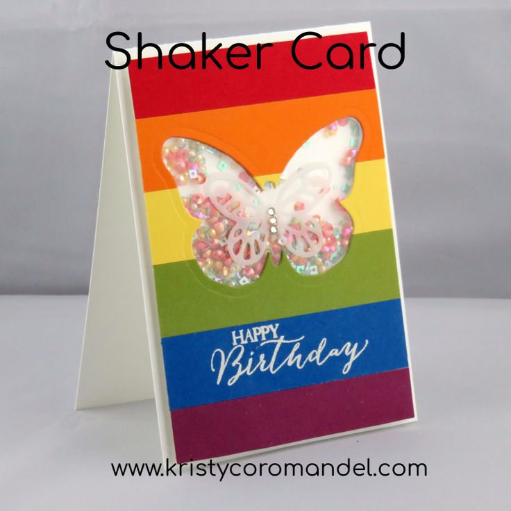 Loving the bright colours of this card