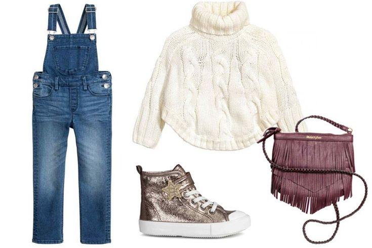 Look del día: peto vaquero para las más pequeñas - PLAZA MAYOR: #Fashion_4_Me, #Moda_Niñas
