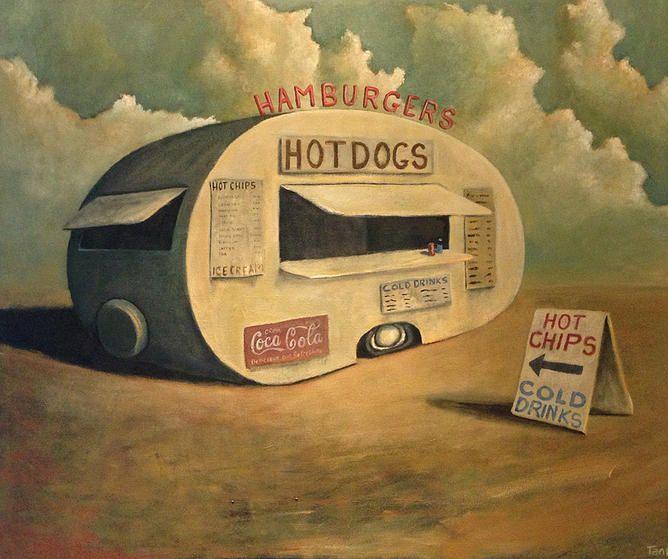 tankart | Abandoned hotdog van