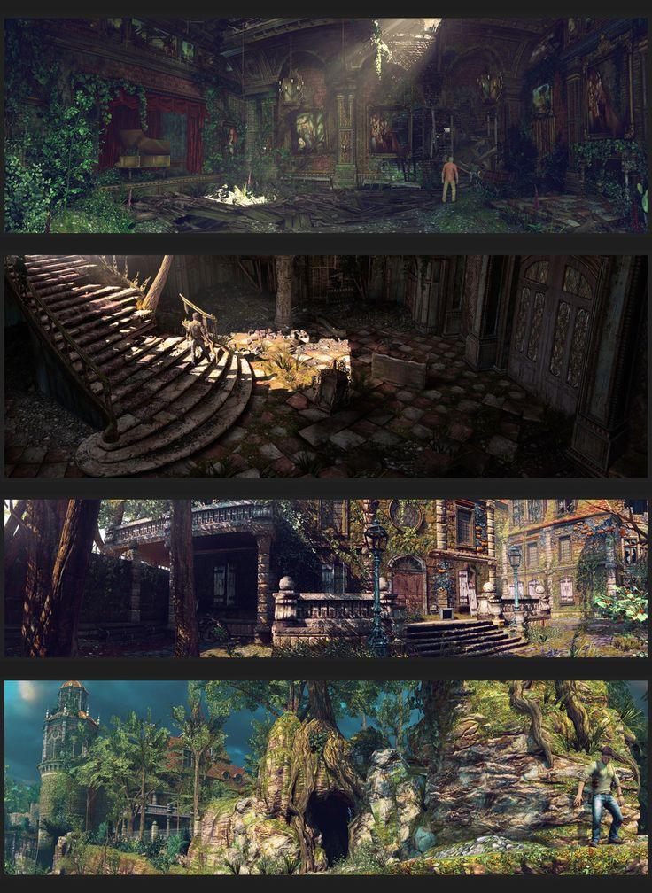 Uncharted shader/texture #conceptart #environment #ruins