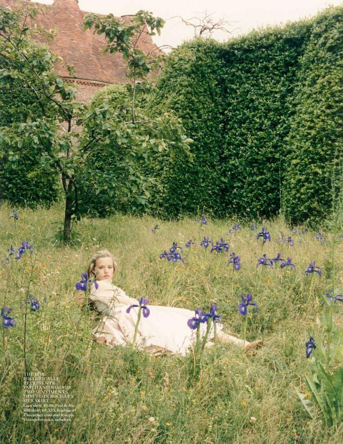 "pairedaeza: "" Georgia May Jagger for Vogue UK October 2013, 'Dream A Little Dream'. Photographer: Venetia Scott. """