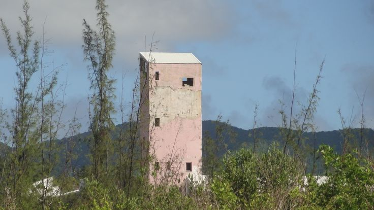 ..the pink tower....